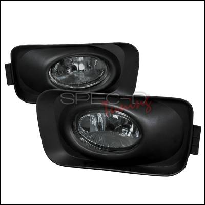 Headlights & Tail Lights - Fog Lights - Spec-D - Acura TSX Spec-D OEM Fog Lights - Smoke - LF-TSX04GOEM