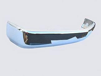 Suburban - Front Bumper - Street Scene - Chevrolet Suburban Street Scene Chrome Bumper with License Plate Bolt Holes - 950-45111