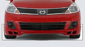 Versa - Front Bumper - Street Scene - Nissan Versa Street Scene Generation 1 Front Chin Spoiler - 950-70364