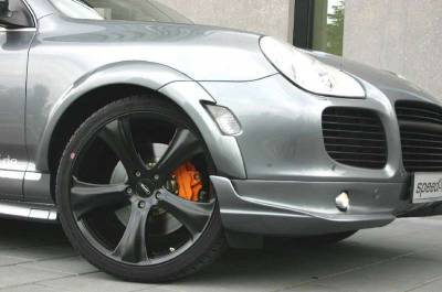 Cayenne - Front Bumper - SpeedArt - Turbo ClubSport Front Lip
