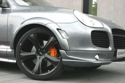 Cayenne - Front Bumper - SpeedArt - S model ClubSport Front Lip