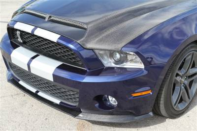Mustang - Front Bumper - TruFiber - Ford Mustang TruFiber Carbon Fiber GT500 LG44 Chin Spoiler TC10025-LG44KR