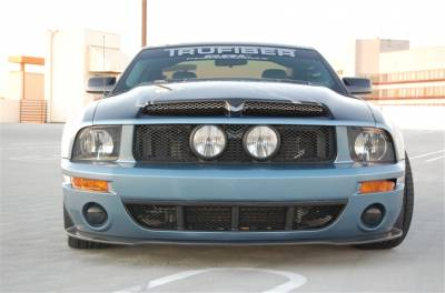 Mustang - Front Bumper - TruFiber - Ford Mustang TruFiber T-1 CXT Front Bumper TF10024-CXT1