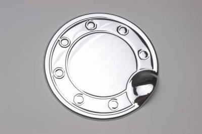 Accessories - Fuel Tank Covers - TFP - TFP Stainless Steel Fuel Door Insert Accent - 805