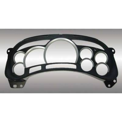 Car Interior - Gauges - US Speedo - US Speedo Silver Gauge Rings - LEN 044