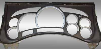 Car Interior - Gauges - US Speedo - US Speedo Satin Gauge Rings - LEN 062