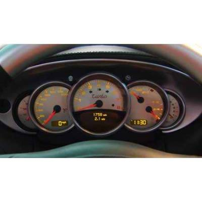 Car Interior - Gauges - US Speedo - US Speedo Stainless Steel Gauge Face - 5PC - Displays 200 MPH - 9110301