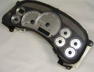 Car Interior - Gauges - US Speedo - US Speedo Stainless Steel Gauge Face - Displays MPH - ESC0201