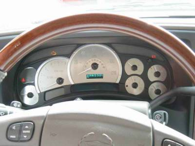 Car Interior - Gauges - US Speedo - US Speedo Platnium Edition Stainless Steel Gauge Face - ESC0401