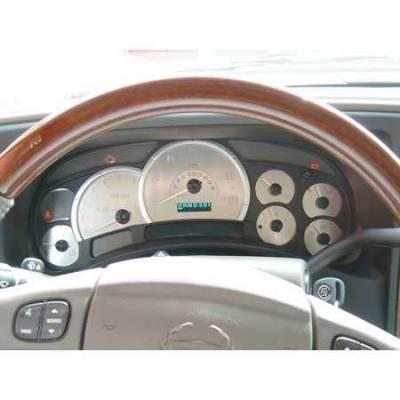 Car Interior - Gauges - US Speedo - US Speedo Platnium Edition Stainless Steel Gauge Face - ESC0402