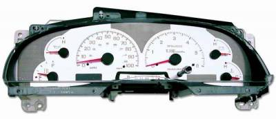 Car Interior - Gauges - US Speedo - US Speedo Stainless Steel Gauge Face - Displays MPH - Tachometer - F1500301