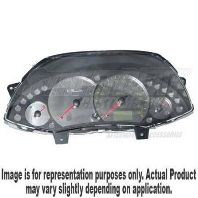 Car Interior - Gauges - US Speedo - US Speedo Stainless Steel Gauge Face with Boost Pod - Displays Tachometer - FOC0302