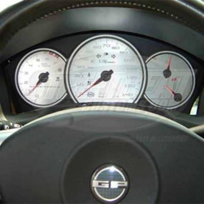 Car Interior - Gauges - US Speedo - US Speedo Stainless Steel Gauge Face - Displays MPH - GRP0401