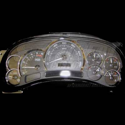 Car Interior - Gauges - US Speedo - US Speedo OEM Stock Black Gauge Face - Displays 120 MPH - Transmission Temperature - PLK0401
