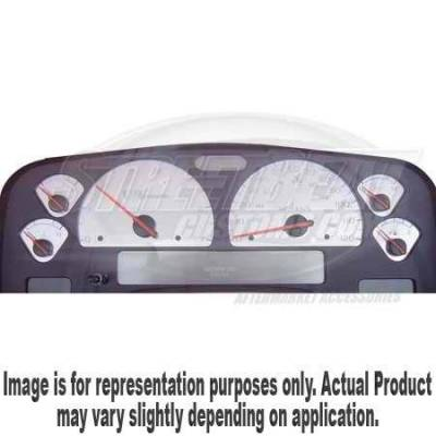 Car Interior - Gauges - US Speedo - US Speedo Stainless Steel Gauge Face - Displays MPH - Diesel - RAM0404