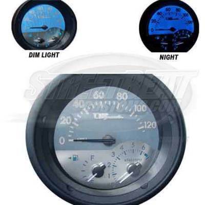 Car Interior - Gauges - US Speedo - US Speedo Stainless Steel Gauge Face - SCI0402
