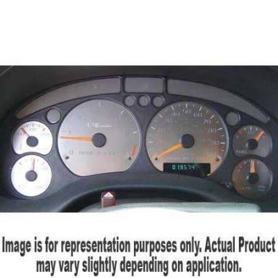 Car Interior - Gauges - US Speedo - US Speedo Stainless Steel Gauge Face - Displays 6000 RPM - Column Shift - ST1000202