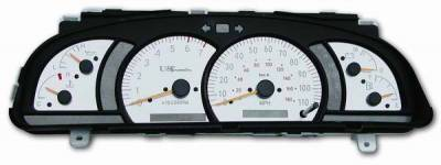 Car Interior - Gauges - US Speedo - US Speedo Stainless Steel Gauge Face - Displays Tachometer - 7000 RPM - MPH - Automatic - TUN0201