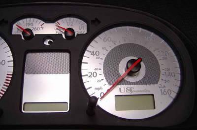 Car Interior - Gauges - US Speedo - US Speedo Stainless Steel Gauge Face - VWP0201