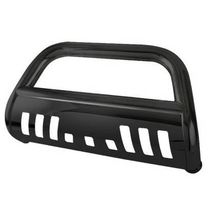 Grilles - Grille Guard - Spyder Auto - Chevrolet Colorado Spyder Bull Bar - Black - BBR-CC-A02G0414-BK
