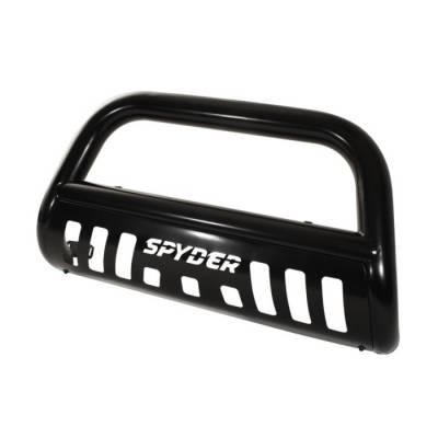 Grilles - Grille Guard - Spyder Auto - Nissan Frontier Spyder Bull Bar - Black - BBR-NF-A02G1200-BK