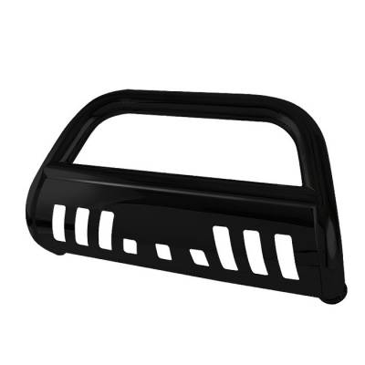 Grilles - Grille Guard - Spyder - Toyota Tundra Spyder 3 Inch Bull Bar Powder Coated Black - BBR-TT-A02G1040-BK