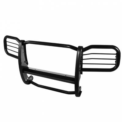 Grilles - Grille Guard - Spyder Auto - Ford Superduty Spyder Grille Guard - Black - GG-F250-A27G0504-BK