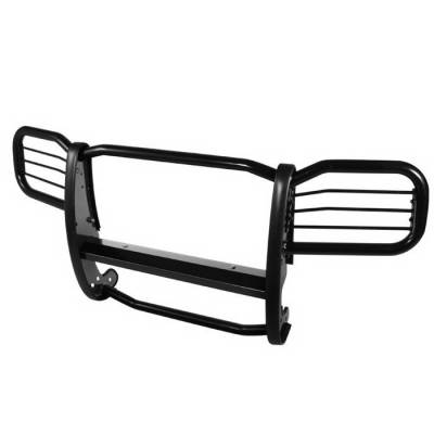 Grilles - Grille Guard - Spyder Auto - Jeep Grand Cherokee Spyder Grille Guard - Black - GG-JGC-A27G0900-BK