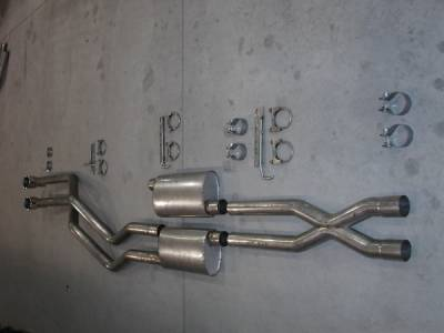Exhaust - Headers - Stainless Works - Ford F150 Stainless Works Exhaust Header - 08F150TDRB