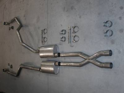 Exhaust - Headers - Stainless Works - Ford F150 Stainless Works Exhaust Header - 08F150TDUB