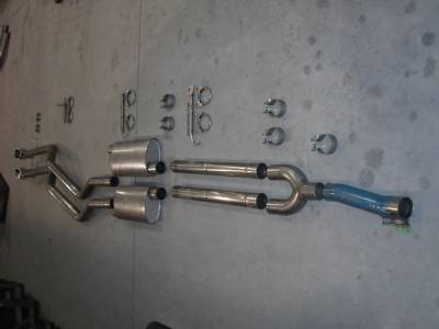 Exhaust - Headers - Stainless Works - Ford F150 Stainless Works Exhaust Header - 08F150TDYRB