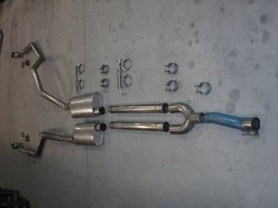Exhaust - Headers - Stainless Works - Ford F150 Stainless Works Exhaust Header - 08F150TDYUB