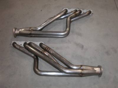 Exhaust - Headers - Stainless Works - Oldsmobile Cutlass Stainless Works Exhaust Header - 6872OC-EDEL