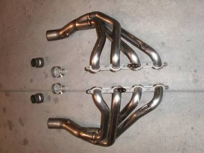 Exhaust - Headers - Stainless Works - Chevrolet Corvette Stainless Works Exhaust Header - C5LS103BT