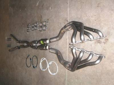 Exhaust - Headers - Stainless Works - Chevrolet Corvette Stainless Works Exhaust Header - C6CAT