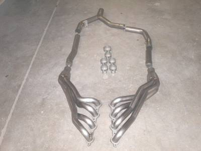 Exhaust - Headers - Stainless Works - Pontiac Firebird Stainless Works Exhaust Header - CA0102