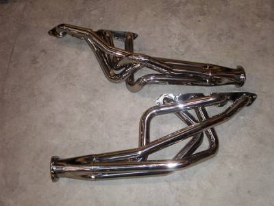 Exhaust - Headers - Stainless Works - Chevrolet Nova Stainless Works Exhaust Header - CA6769BBP