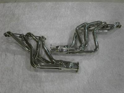 Exhaust - Headers - Stainless Works - Chevrolet Nova Stainless Works Exhaust Header - CA6781SBP