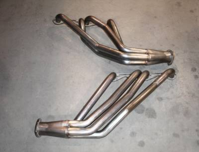 Exhaust - Headers - Stainless Works - Chevrolet Nova Stainless Works Exhaust Header - CA679S8
