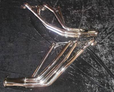 Exhaust - Headers - Stainless Works - Chevrolet Nova Stainless Works Exhaust Header - CA679SP8