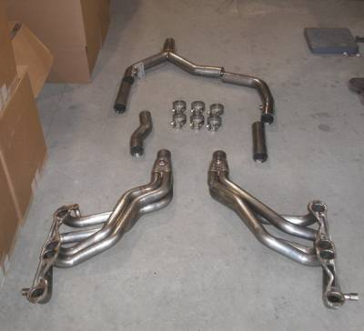 Exhaust - Headers - Stainless Works - Pontiac Firebird Stainless Works Exhaust Header - CA9495
