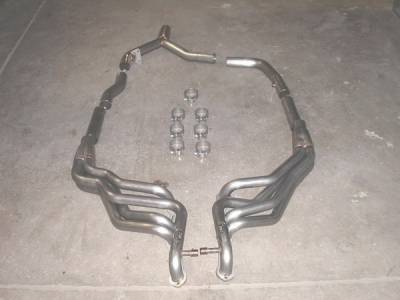 Exhaust - Headers - Stainless Works - Pontiac Firebird Stainless Works Exhaust Header - CA9697