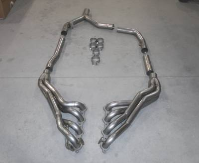 Exhaust - Headers - Stainless Works - Pontiac Firebird Stainless Works Exhaust Header - CA9899