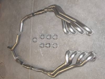 Exhaust - Headers - Stainless Works - Pontiac Firebird Stainless Works Exhaust Header - CA9899CAT