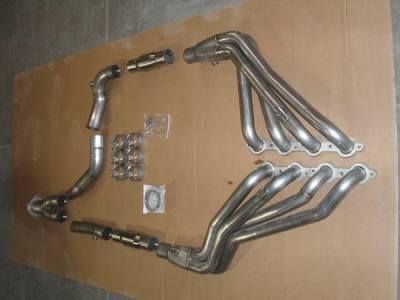 Exhaust - Headers - Stainless Works - GMC Sierra Stainless Works Exhaust Header - CT03052WD