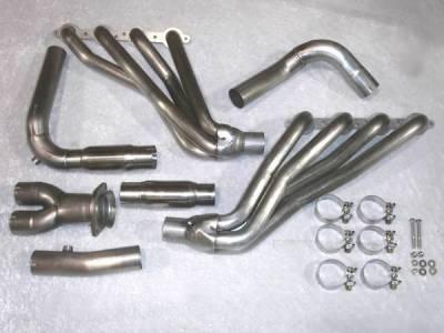 Exhaust - Headers - Stainless Works - GMC Sierra Stainless Works Exhaust Header - CT0305H