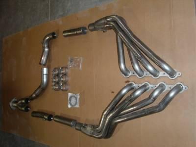 Exhaust - Headers - Stainless Works - GMC Sierra Stainless Works Exhaust Header - CT0305OR2WD