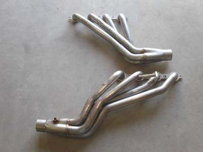 Exhaust - Headers - Stainless Works - GMC Sierra Stainless Works Exhaust Header - CT9902H2WD