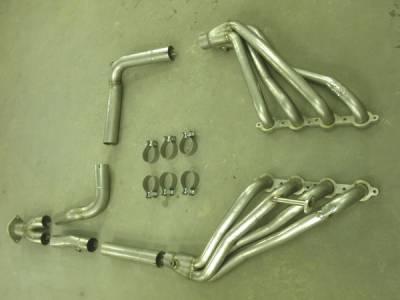 Exhaust - Headers - Stainless Works - GMC Sierra Stainless Works Exhaust Header - CT9902OR