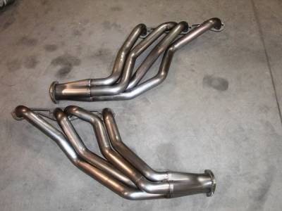 Exhaust - Headers - Stainless Works - Chevrolet Monte Carlo Stainless Works Exhaust Header - CV6467BP